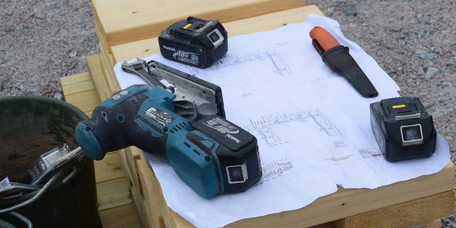 FÖ Bygg, ritning och verktyg